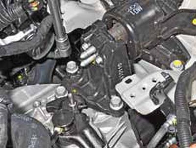 Снятие двигателя, силового агрегата Киа Рио 3 (2011)