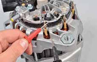 Проверка генератора Киа Рио 3 (2011)