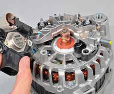 Разборка генератора Киа Рио 3 (2011)