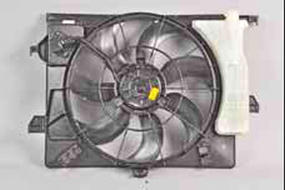 Система охлаждения Киа Рио 3 (2011)