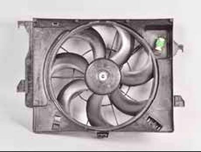Снятие крыльчатки и электродвигателя вентилятора Киа Рио 3 (2011)